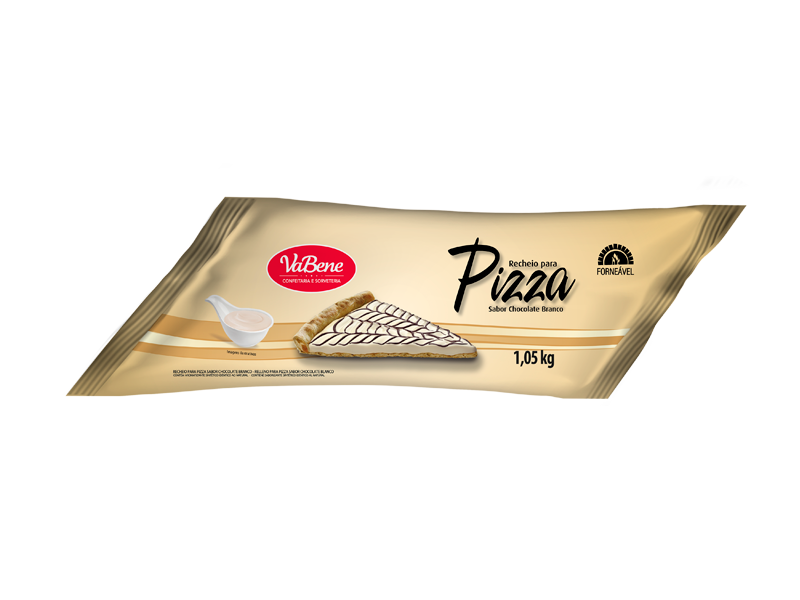Recheio para Pizza VaBene Chocolate Branco Manga 1kg